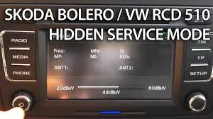 how to enter hidden diagnostic menu in volkswagen rcd 310 golf
