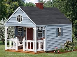 Backyard Play Houses by 41 Best Kid U0027s Garden House Images On Pinterest Kid Tree Houses