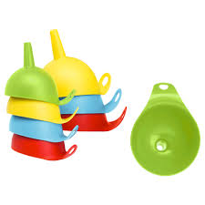 Ikea Utensils Chosigt Funnel Set Of 2 Assorted Colours Ikea