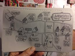 Pittsburgh Neighborhood Map Pittsburgh Neighborhoods Drawings Skillshare Projects