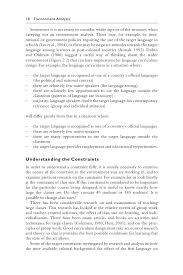 language setting pattern used in society language curriculum design