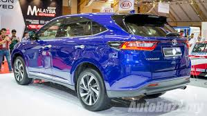 2015 toyota harrier 2017 toyota harrier turbo previewed in malaysia autobuzz my