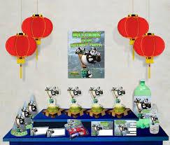 free kung fu panda 3 printable party decoration pack