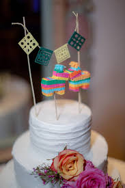 wedding cake pinata pinata cake toppers mexican decorations
