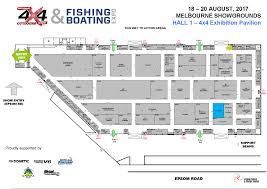 floor plans national 4x4 outdoors fishing and boating expo