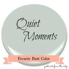 quiet moments is a calming mix of blue green and gray it u0027s a
