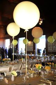 balloon centerpieces thought they would look like jellyfish if