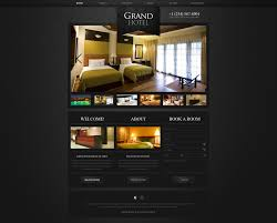 Design A Bedroom Template Website Template Hotel Royal Motel Custom Design Psd Exotic