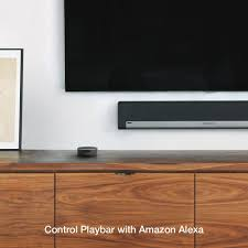 Home Theater Wall Units Amp Entertainment Centers At Dynamic Amazon Com Sonos Playbar Tv Soundbar Wireless Streaming Tv And