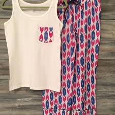 best monogrammed pajamas products on wanelo