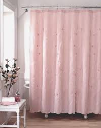 pink shabby chic shower curtains home decor