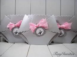 nightmare before baby shower invitation baby pink