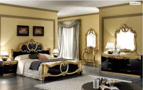 bedroom ideas black and gold interior design