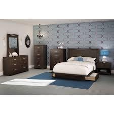 creative full bedroom furniture sets south shore soho bedroom piece value bundle multiple finishes