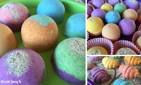 science experiment make your own bath bombs