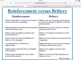 reinforcement vs bribery aba pinterest psychology and