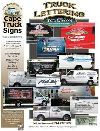 cape cod truck and boat lettering call joe rees today u2013 774 722