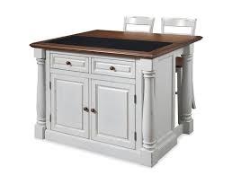 kitchen incredible wood veneered kitchen island with stools oven