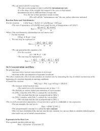 ap chemistry study guide kinetics