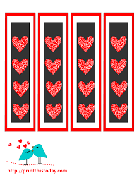 free printable halloween bookmarks free printable bookmarks with hearts