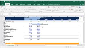 building a financial model financial modeling course