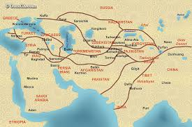 world map by cities the great silk road map map of ancient silk road with modern
