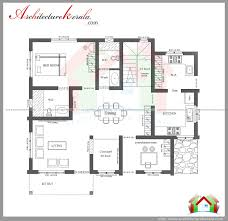 Kerala Home Plan Single Floor Simple 2 Bedroom House Plans Kerala Style Memsaheb Net