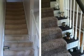 bead board risers sweeten this stairway