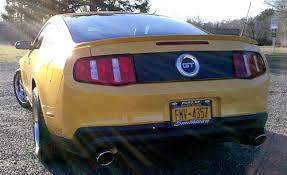 Blacked Out 2013 Mustang How To Install A Magnetic Deck Lid Blackout Panel On Your 2005