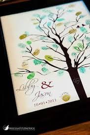 thumbprint tree birthday anniversary baby shower