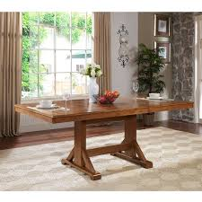 Liberty Furniture Tahoe Trestle Dining Table Hayneedle - Trestle kitchen tables