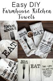 diy farmhouse kitchen towels towels humor and kitchens