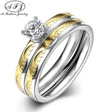 western wedding rings 2017 new classic design western titanium engagement