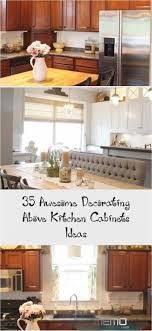 how to decorate above kitchen cabinets 2020 jun 7 2020 kitchen decor ideas above cabinets ideas above