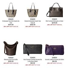coach sale on 6pm save on coach handbags shoes more