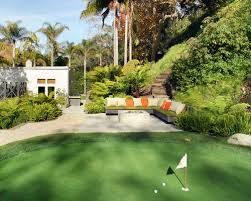 Putting Green In Backyard by Putting Green Sand Trap Houzz