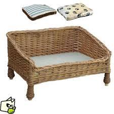 canap pour petit chien pas cher lit pour pas cher lit canape en osier pour chien et
