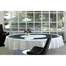 modern table cloth black white watercolor linen