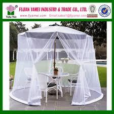 Mosquito Net Umbrella Canopy by Garden Black Outdoor 9 Ft Table Screen Patio Umbrella Bug Mosquito