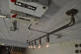 Ceiling Track Light Fixtures by Track Lighting Industrial Ceiling Light Steel Light