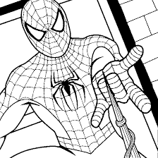 free spiderman coloring pages printable party invitations