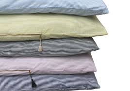 hedgehouse throw bed lyford seersucker throwbed in light blue
