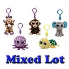 ty beanie boos key clips bbtoystore toys plush trading