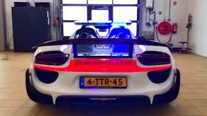 police porsche the porsche 918 is the latest addition to the dutch police force