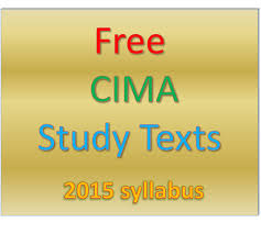 free cima study texts for 2015 syllabus from astranti study cima