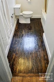 Hardwood Floors In Bathroom Reclaimed Wood Bathroom Floor Beautiful Matters