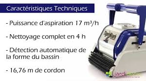 robot de piscine tigershark hayward youtube