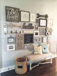 23 rustic farmhouse decor ideas wall ideas gallery wall and