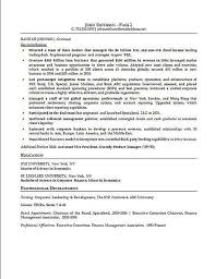 Example Of Work Resume by Sample Of Job Resume Financial Executive Resume Example How To