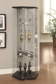 Modern Corner Curio Cabinet Furniture Classic Interior Storage Design With Exciting Curio
